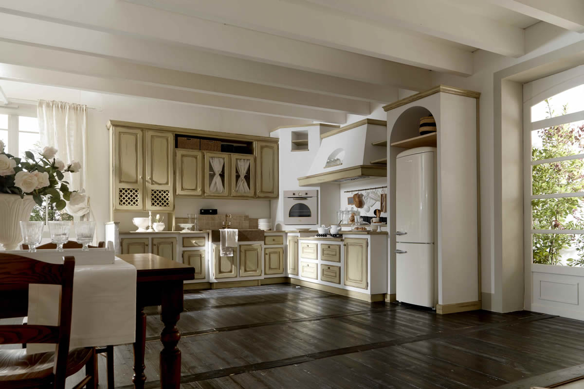 Outlet Cucine country moderne Arredamento Living
