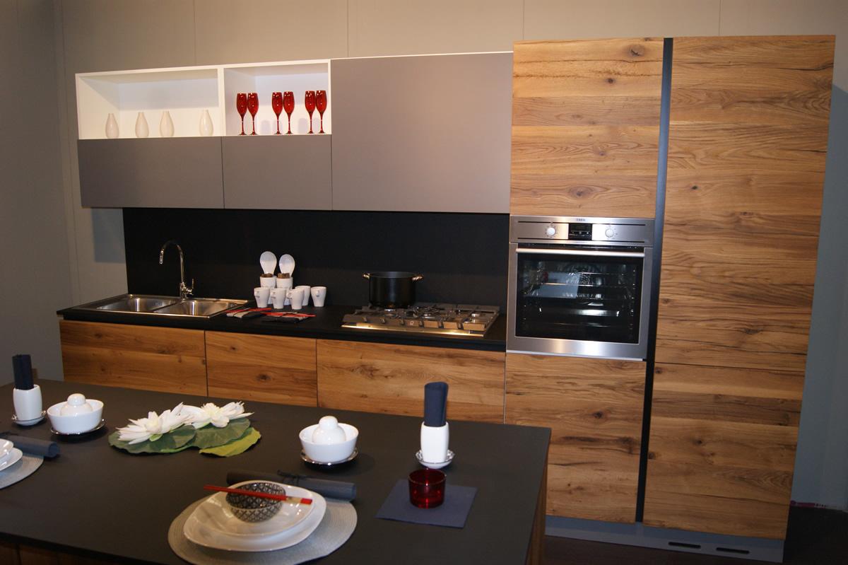 Cucina Contemporanea Design Rovere