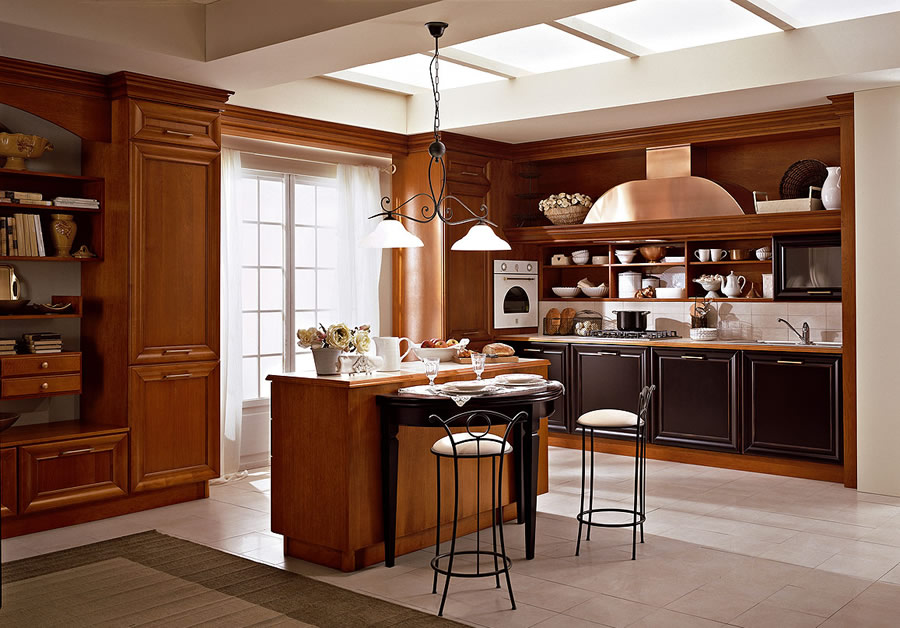 Cucina classica contemporanea for Cucina classica contemporanea