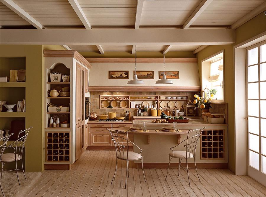 Best cucine tradizionali legno photos ideas design - Cucina classica contemporanea ...