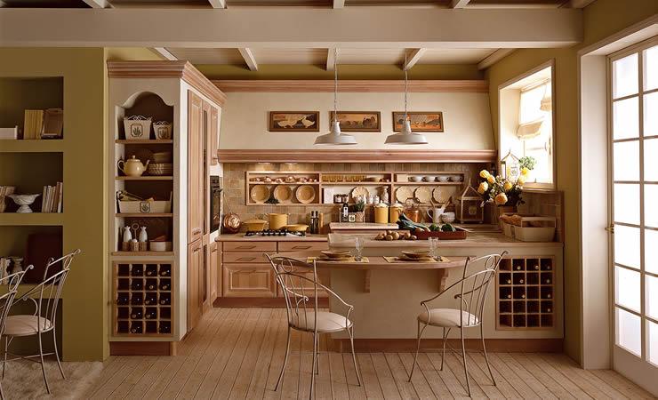 Arredamento su misura firenze toscana mobilificio marzi - Cucina classica contemporanea ...